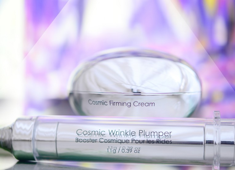 cosmic firming collection with purple background