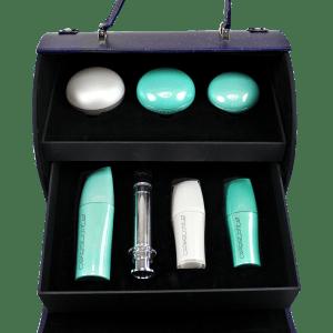 Celestolite Beauty Suitcase Jade Spectra Collection