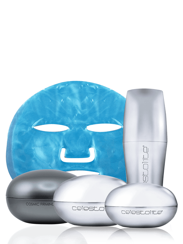 Cosmic Collection + Renewal blue mask