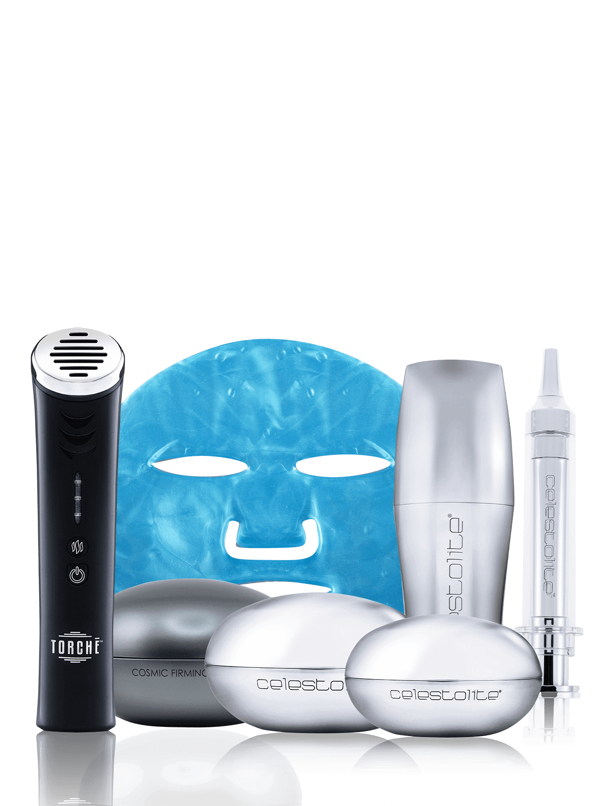 Cosmic Collection + Renewal blue mask + Black Torche