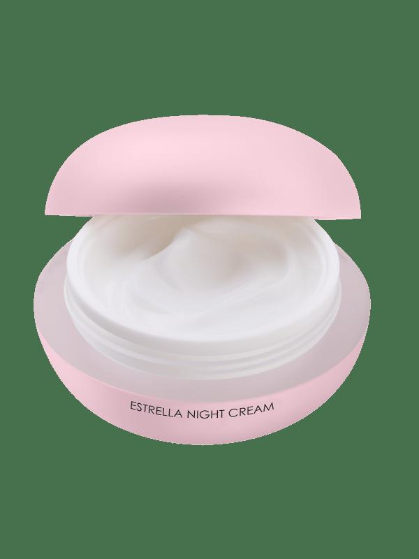 Estrella Night Cream open