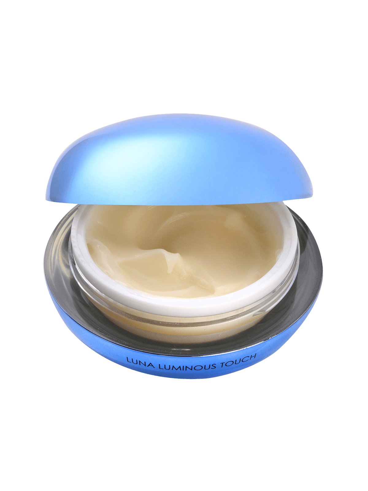 Luna Luminous Touch open lid