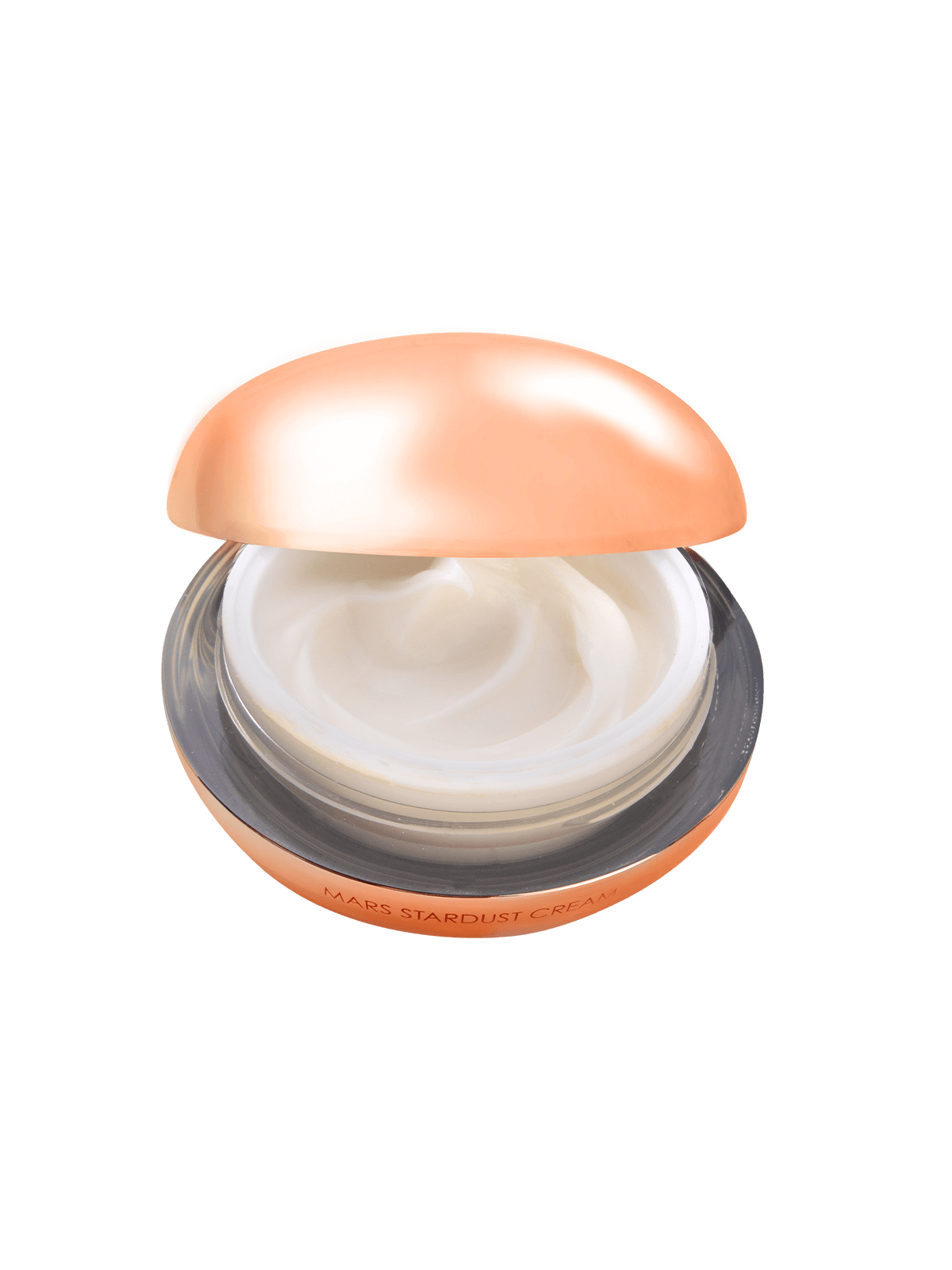 Mars Stardust Cream with open lid